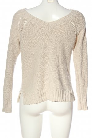 Abercrombie & Fitch Strickpullover wollweiß Casual-Look