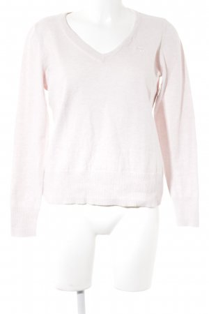 Abercrombie & Fitch V-Ausschnitt-Pullover rosé Casual-Look
