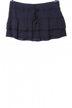 Abercrombie & Fitch Volanten rok blauw casual uitstraling