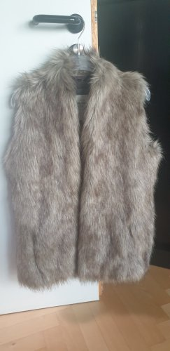 Abercrombie & Fitch Weste Fake Fur