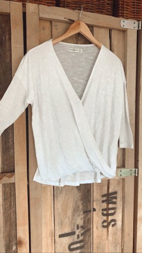 Abercrombie & Fitch Wikkelblouse wit