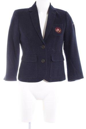 Abercrombie & Fitch Woll-Blazer dunkelblau Casual-Look
