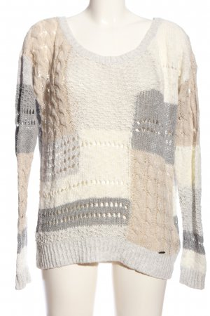 Abercrombie & Fitch Cable Sweater allover print casual look
