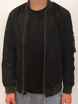 Abercrombie & Fitch Giacca bomber nero