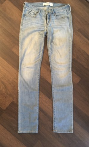 Abercrombie & Fitch Straight Leg Jeans azure
