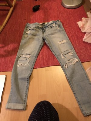 Abercrombie & Fitch Tube jeans veelkleurig