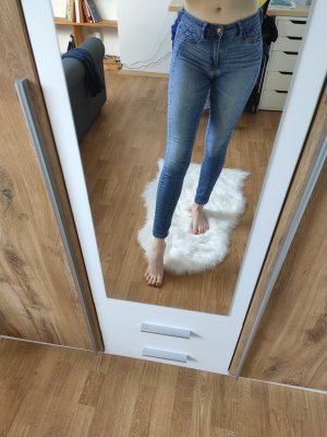 Abercrombie & Fitch Jeggings blue
