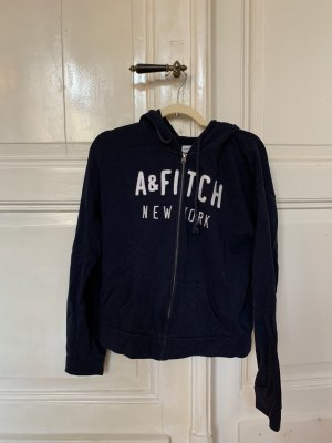 Abercrombie & Fitch Jack met capuchon donkerblauw-blauw