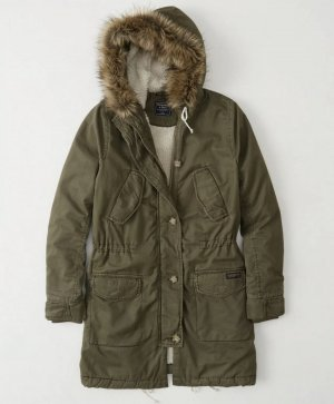 Abercrombie Parka Sherpa Gr. S Small