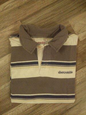 Abercrombie & Fitch Polo shirt veelkleurig Katoen
