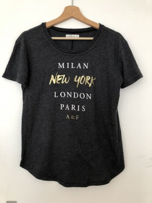 Abercrombie & Fitch T-shirt antracite