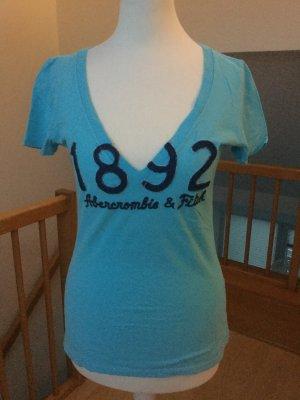 Abercrombie Shirt, babyblau, Größe S