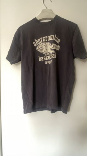 Abercrombie & Fitch Basic Top grey