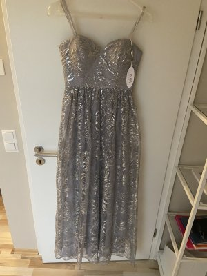 Ball Dress silver-colored