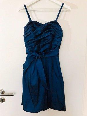 Abiball Kleid, Abschluss, festliches Kleid, blau, hochwertig, Vera Mont