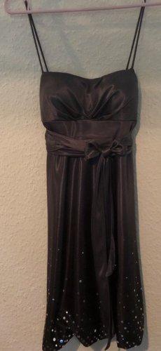 Ambiance Cekinowa sukienka srebrny-szary