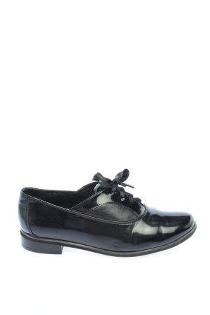 Abil Zapatos estilo Richelieu negro look casual