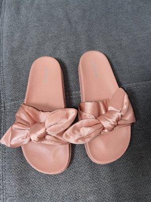 Abloom Comfortabele sandalen roségoud-roze