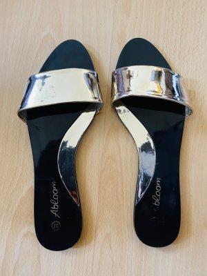 Abloom Lack Pantoletten Sandalen Gr 37
