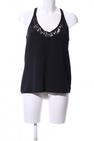 About You Blusa sin mangas negro look casual