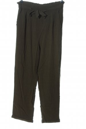 About You Baggy broek khaki casual uitstraling