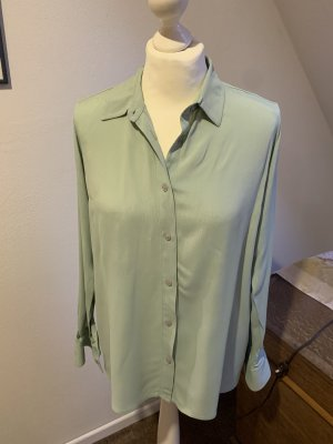 About You Long Sleeve Blouse sage green-mint