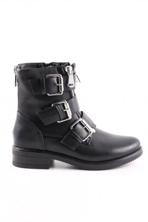 About You Botines Chelsea negro look casual