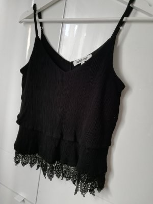 About You Crop Top Spitze 34 XS