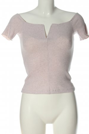 About You Cropped Top natural white flecked casual look