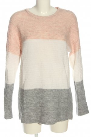 About You Pullover all'uncinetto motivo a righe stile casual