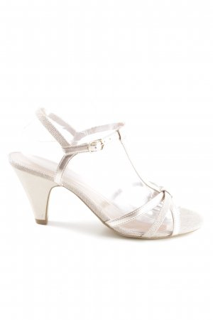 About You High Heel Sandaletten creme Casual-Look