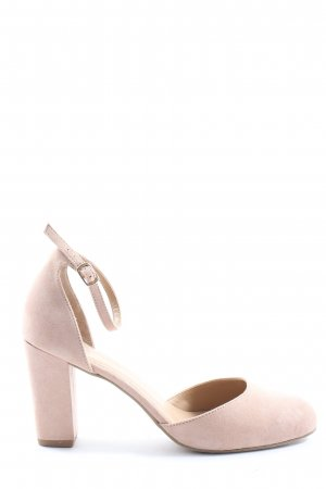 About You Pumps met hoge zool roze casual uitstraling