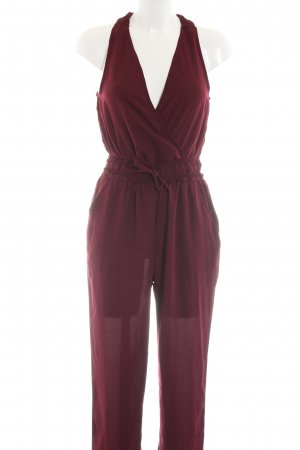 About You Jumpsuit rood casual uitstraling