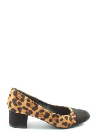 About You  licht Oranje-zwart luipaardprint elegant