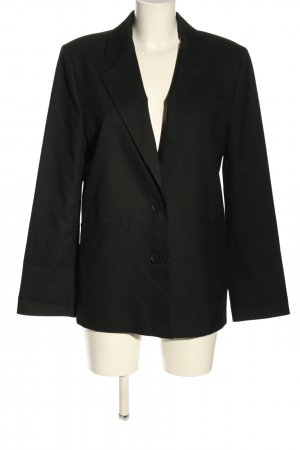 About You Long Blazer black business style