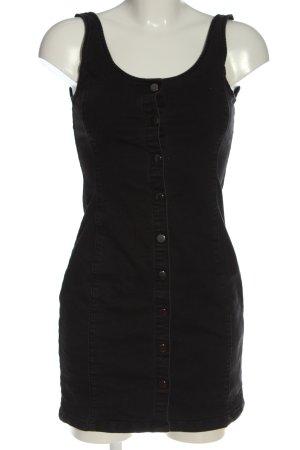 About You Mini vestido negro look casual
