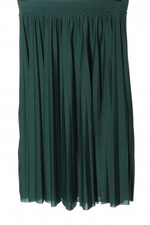 About You Pleated Skirt green casual look
