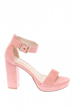 About You Strapped pumps pink casual look