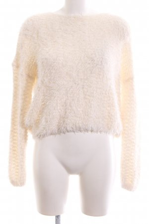 About You Crewneck Sweater natural white casual look