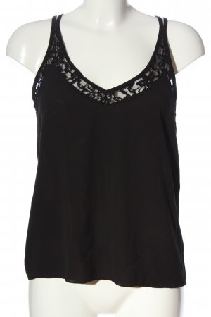 About You Top de tirantes finos negro look casual