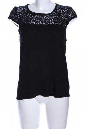 About You Lace Top black casual look