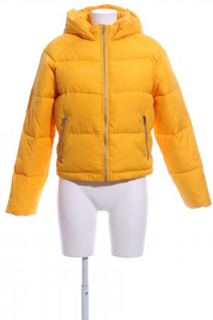 About You Steppjacke hellorange Steppmuster Casual-Look
