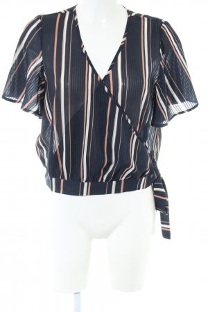 About You Wraparound Blouse striped pattern casual look