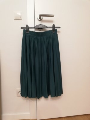 About You Midi Skirt dark green-forest green