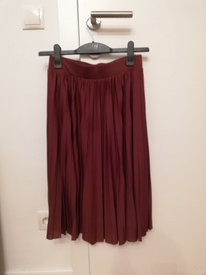 About You Midi Skirt dark red