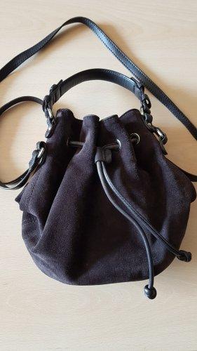 abro Pouch Bag dark brown-black brown