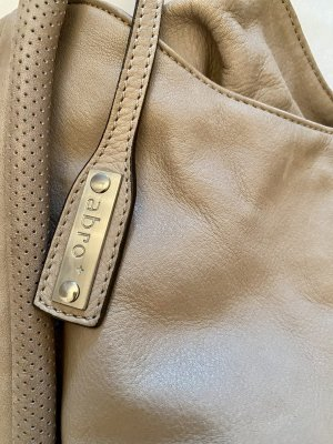 abro Pouch Bag light grey-grey leather