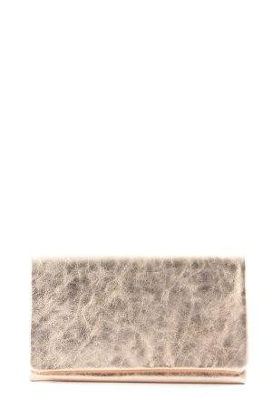 abro Borsa clutch bianco sporco-grigio chiaro stile casual