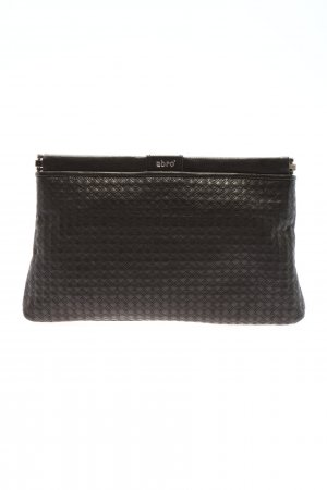abro Clutch schwarz Business-Look