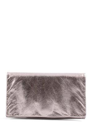 abro Clutch silver-colored elegant